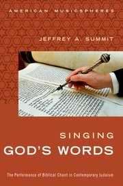 Cover of Singing God's Words by Jeffrey A. Summit